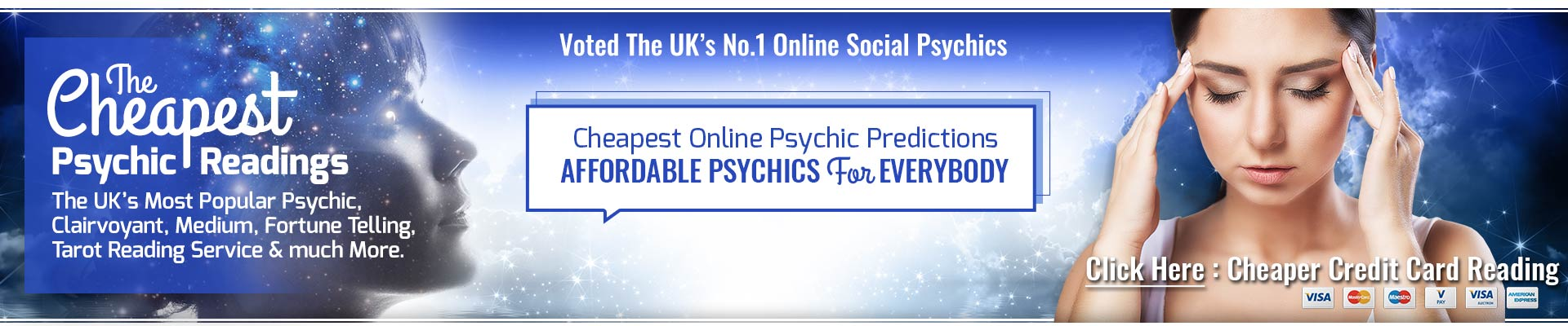 Cheapest Social Psychics